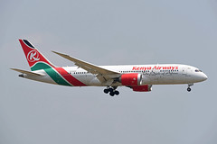 Kenya Airways Boeing 787-8 Dreamliner 5Y-KZC Maasai Mara (EK056) Tags: kenya airways boeing 7878 dreamliner 5ykzc maasai mara bangkok suvarnabhumi airport