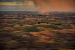 Ever-changing land and skies 13 (Richard McGuire) Tags: palouse steptoebutte us washington landscape skies sunset