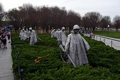 DSC_0108-61 (jjldickinson) Tags: nikond3300 109d3300 nikon1855mmf3556gvriiafsdxnikkor promaster52mmdigitalhdprotectionfilter washingtondc cherry tree flower bloom blossom koreanwarveteransmemorial monument art sculpture statue
