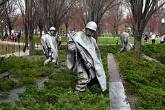 DSC_0106-61 (jjldickinson) Tags: nikond3300 109d3300 nikon1855mmf3556gvriiafsdxnikkor promaster52mmdigitalhdprotectionfilter washingtondc cherry tree flower bloom blossom koreanwarveteransmemorial monument art sculpture statue