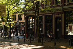 Gastown (Photo Alan) Tags: vancouver canada people street streetphotography streetpeople building buildingcomplex tree trees