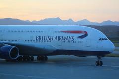 British Airways G-XLEF Airbus A380-841 flight BA85 arrival at Vancouver YVR Canada from London Heathrow LHR England UK (japes10) Tags: british airways gxlef airbus a380841 delayed flight ba85 arrival vancouver yvr canada from london heathrow lhr england uk first date 13012014 15052014 britishairways