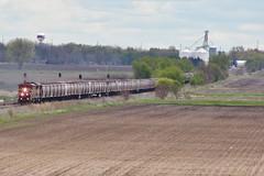 Out of Steward (gsebenste) Tags: britishcolumbiarail bcol bnsf trains steward illinois rochelle