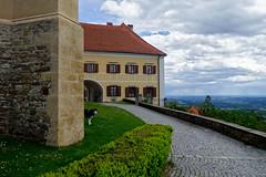 BETWEEN HEAVEN & EARTH (LitterART) Tags: pöllauberg hisky dog chien hund pfarrhof church kirche gotik gothic gotisch hdr sonyrx100 spring frühling österreich steiermark