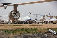 B747 Victorville 26.03.19-1 (jonf45 - 5 million views -Thank you) Tags: southern california logistics airport victorville march 2019 airliner civil aircraft jet plane flight aviation boneyard scrapyard storage yard china airlines boeing 747