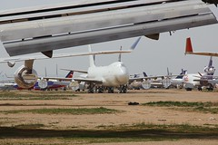 B747 B-18703 Victorville 26.03.19-1 (jonf45 - 5 million views -Thank you) Tags: southern california logistics airport victorville march 2019 airliner civil aircraft jet plane flight aviation boneyard scrapyard storage yard china airlines boeing 747409f b18703