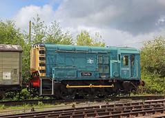 Charlie (Treflyn) Tags: british rail br blue class 08 shunter 08238 charlie yard lydney junction dean forest railway
