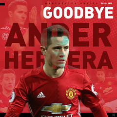 Ander Herrera (nuthon) Tags: ander herrera manut manchester united football club good bye player red devil manu graphic design art portfolio 2019 farewell