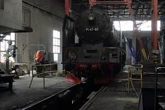 Leszno PKP  |  2019 (keithwilde152) Tags: pt47 pt4765 leszno wielkopolska pkp poland 2019 md depot roundhouse repair shops machinery plant buildings architecture steam locomotives