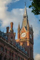 St Pancras Station, London, England, UK (godrick) Tags: gbr europe stpancrasstation england london uk gb gothic architecture clocktower railway hotel rail eurostar