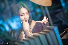 DSC_5351 (Robin Huang 35) Tags: 李壹 leona 板橋書店 書店 人像 portrait lady girl nikon d850 板橋區 新北市 中華民國