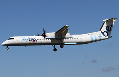 G-ECOT (Harvey's Aviation Images) Tags: gecot bombardier dash8q400 flybe 4251 egns iom ronaldsway airport isleofman