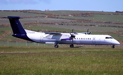 G-ECOK (Harvey's Aviation Images) Tags: gecok bombardier dash8q400 flybe 4230 egns iom ronaldsway airport isleofman