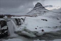 Kirkjufellfoss (Jose Cantorna) Tags: iceland islandia snow nieve hielo ice d810