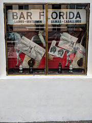 bar florida (the real duluoz) Tags: ciudaddeméxico méxico bar florida ladies gentleman caballeros damas escaparate