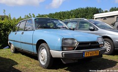 Citroën GSA Club 1980 (Wouter Bregman) Tags: ft65px citroën gsa club 1980 citroëngsa blue bleu gs citromobile 2019 citro mobile carshow expo haarlemmermeer stelling vijfhuizen nederland holland netherlands paysbas youngtimer old classic french car auto automobile voiture ancienne française france frankrijk vehicle outdoor