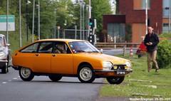 Citroën GS X 1975 (Wouter Bregman) Tags: 37yb90 citroën gs x 1975 citroëngs jaune hélianthe orange citromobile 2019 citro mobile carshow expo haarlemmermeer stelling vijfhuizen nederland holland netherlands paysbas vintage old classic french car auto automobile voiture ancienne française france frankrijk vehicle outdoor