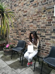 PBWA London (IanAWood) Tags: people sit sitting seated stokenewington lbofhackney london streetphotography candid peoplewatching humansbeing lifeonthestreet urbanlife androidphotography cameraphonephotographer mobilesnaps capturedonp9 huaweip9 editedinsnapseed leicamobile moblog mobilephotography seenonmytravels notwalkingwithmynikon