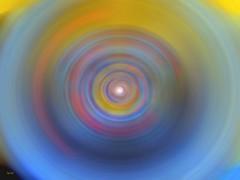 Blue vibrations (Emmanuelle Baudry - Em'Art) Tags: spiral vortex chakra bleu blue yellow jaune multicouleur multicolor colorful radiance vibration univers cosmos trip voyage psychédélilque psychedelic emart emmanuellebaudry lumière light spiritualité spirituality