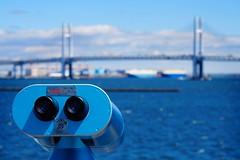 Yokohama Bay Bridge (petrwag) Tags: sonya6500 sel1670z blue bokeh japan japón japon nihon nippon yokohama
