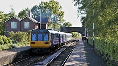 Diesel Mixed Units (TimboM) Tags: plumley plumleystation midcheshireline cheshirelines dmu class150 class142 pacer railbus bustrain northernrail 150223 142062 2d53 northern