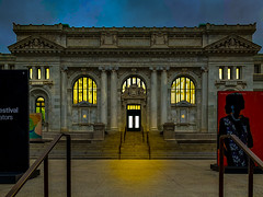 2019.05.11 Carnegie Apple Library Day and Night, Washington, DC USA 9757
