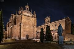 Salamanca 07 (-COULD 2.0) Tags: spain sony salamanca sonyfe28mmf2 sonya7iii night ngc noche nocturna monasterio sesteban