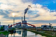 Grosskraftwerk Mannheim (venator.photonae) Tags: monnem mannheim rhine river fluss powerplant gkm