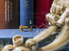 The Truth (AlanOrganLRPS) Tags: downsizing 00gauge wig bible oath affirmation thetruth justice legal lawyer barrister crime court law art macro