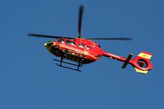 IMG_8478 (Craig 210582) Tags: midlands airambulance airbus h145 hems uk stoke clayton helicopter red hospital aircraft staffordshire