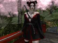 Samuri warrioress 5-11-19_003 (Justine Flirty) Tags: outfits looks variety