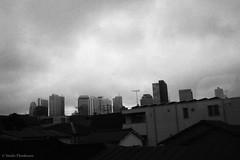 N0412019 (toshyie) Tags: fomapan400 leicam6 summaronm35mmf28 cloudy cloud monochrom black white tokyo dark 東京 曇 モノクローム フィルム film
