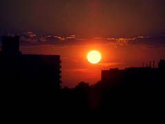 New York Sunset (dimaruss34) Tags: newyork brooklyn image sky skyline dmitriyfomenko clouds sunset