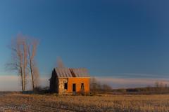 Deserted (maureen.elliott) Tags: deserted abandoned oldhouse rural sunlight fields ontario brucecounty architecture landscape