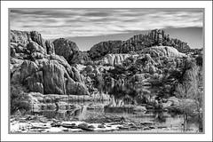 Granite Dells and Watson Lake, Arizona (TAC.Photography) Tags: arizona granitedells watsonlake arizonapassages monochrome bw blackandwhite allofarizonaphotography