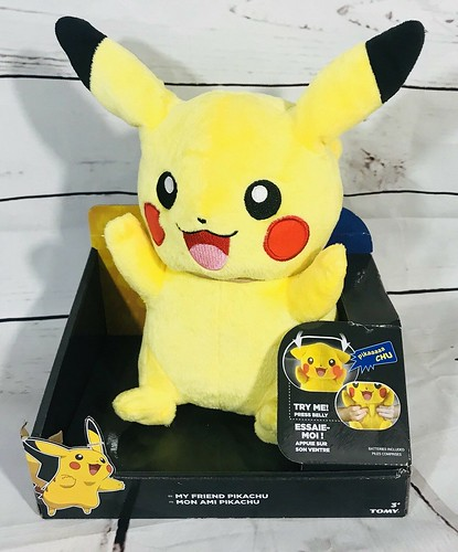 Tomy - My Friend Pikachu (2017 Package Revision)