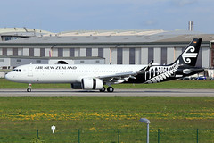 Air New Zealand  Airbus A321-271NX D-AVZF (ZK-NNE) (widebodies) Tags: hamburg finkenwerder xfw edhi widebody widebodies plane aircraft flughafen airport flugzeug flugzeugbilder air new zealand airbus a321271nx davzf zknne