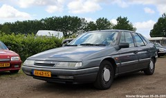 Citroën XM 2.0i Ambiance 1989 (XBXG) Tags: xv67ys citroën xm 20i ambiance 1989 citroënxm citromobile 2019 citro mobile carshow expo haarlemmermeer stelling vijfhuizen nederland holland netherlands paysbas youngtimer old classic french car auto automobile voiture ancienne française france frankrijk vehicle outdoor