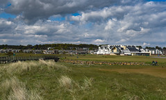 Carnoustie (scrimmy) Tags: scotland carnoustie carnoustiegolfhotel golf sky clouds grassland tandem