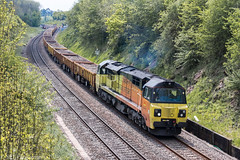 70802 at Dunhampstead [6C21] 11.05.2019 (Wolfie2man) Tags: worcestershirerailways canonphotography dunhampstead engineerstrain colas colasrail colasrailfreight class70 70802