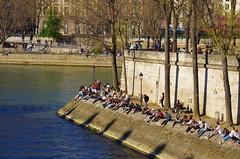 471 Paris en Mars 2019 - quai d'Orléans dans l'ïle Saint-Louis (paspog) Tags: paris france mars march märz 2019 seine quaidorléans ïlesaintlouis