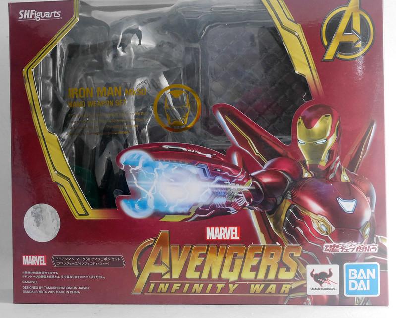 [S.H.Figuarts]Iron Man MK-50 Nano Weapon Set