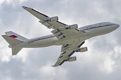 A9C-HMK / Boeing 747-4P8 / 33684/1324 / Bahrain Royal Flight (A.J. Carroll (Thanks for 1 million views!)) Tags: a9chmk boeing 7474p8 747400 747 744 336841324 cf680c2b5f bahrainroyalflight kshl 894014 london heathrow lhr egll 27r