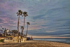 Sunrise 19-2-9-19 (rod1691) Tags: oceanside california south pacific strand walkabout palmtrees beach sand surf
