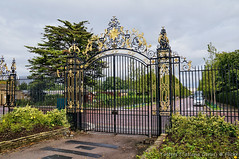Gate in Regent's Park, London