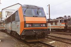 SNCF 26093 (bobbyblack51) Tags: sncf class 26000 alsthom bb electric locomotive 26093 mohon depot 1998