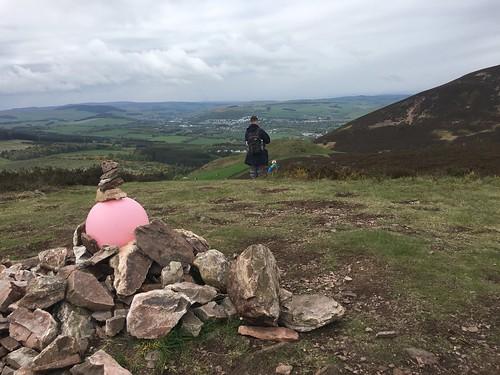 Eildon Hills Walk