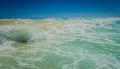 The Caribbean Sea waves at Cancun Mexico (mbell1975) Tags: quintanaroo mexico the caribbean sea waves cancun yucatán yucatan water ocean atlantic meer mer surf wave beach