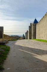 CARCASSONNE-048--OCCITANIE-PANORAMIQUE-_DSC0485 (bercast) Tags: aude carcassonne chateau chateaumedival france lesremparts occitanie ue bc bercast lacitédecarcassonne lamuraille