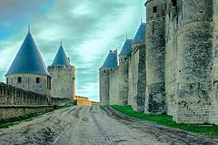 CARCASSONNE-051--OCCITANIE-PANORAMIQUE-_DSC0571-2 (bercast) Tags: aude carcassonne chateau chateaumedival france lesremparts occitanie ue bc bercast lacitédecarcassonne lamuraille